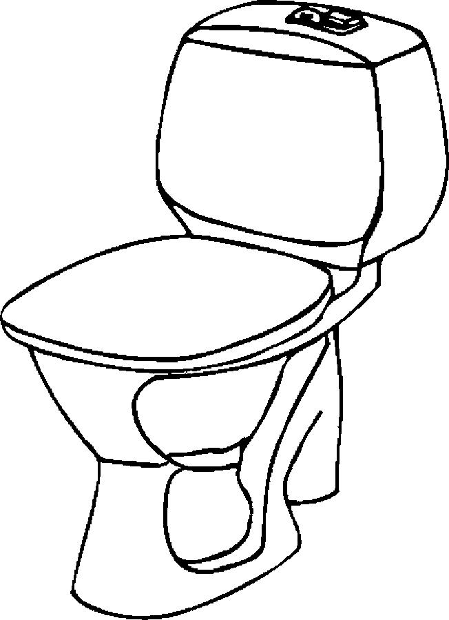 Imagens De Banheiro Para Colorir : Desenho de privada do banheiro para colorir tudodesenhos