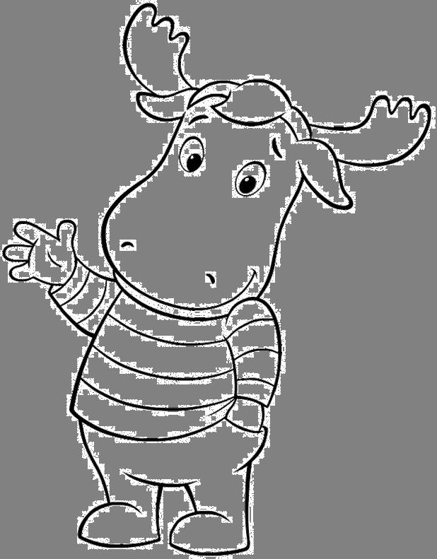 desenho de tyrone de backyardigans para colorir tudodesenhos