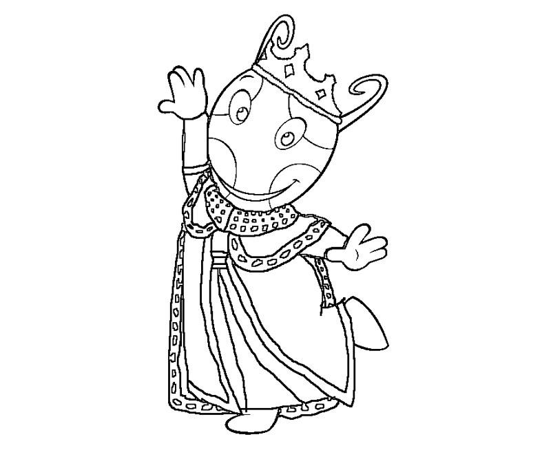 desenho de rainha uniqua para colorir tudodesenhos