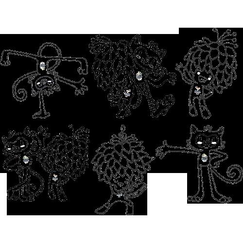 Mascotes Olimpicos Para Imprimir