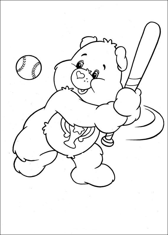 Desenho De Ursinhos Carinhosos E Bolas De Soprar Para