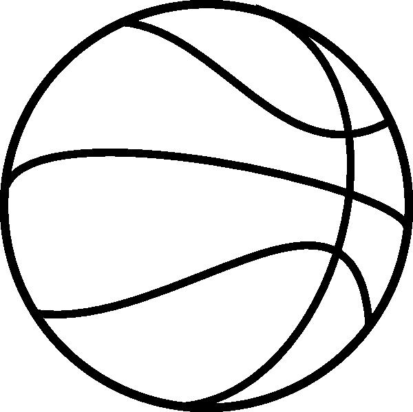 desenho de bola de basquete para colorir tudodesenhos