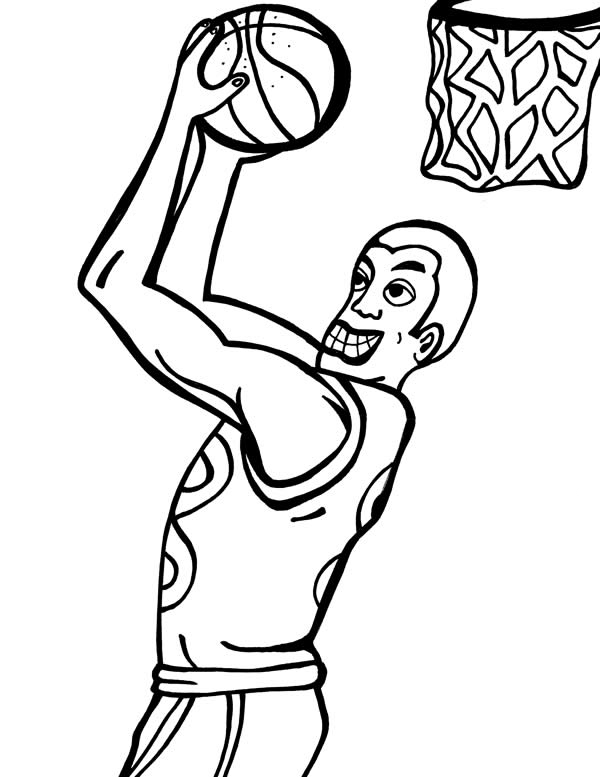 Duke Basketball Coloring Pages