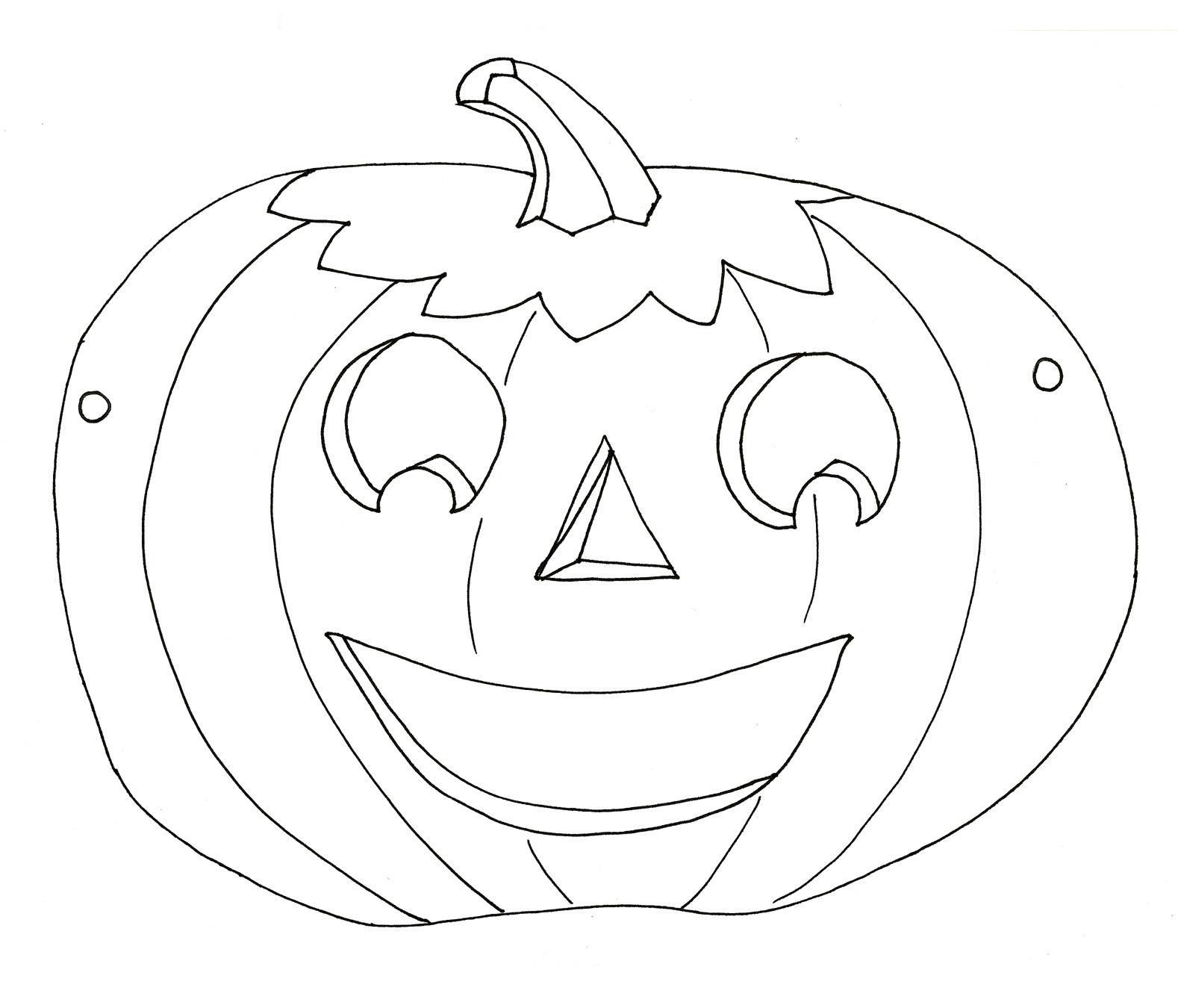 Asombroso Máscaras De Halloween Para Colorear Modelo - Enmarcado ...