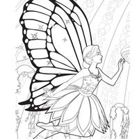 Desenho De Barbie Tentando Salvar O Reino Das Sereias Para