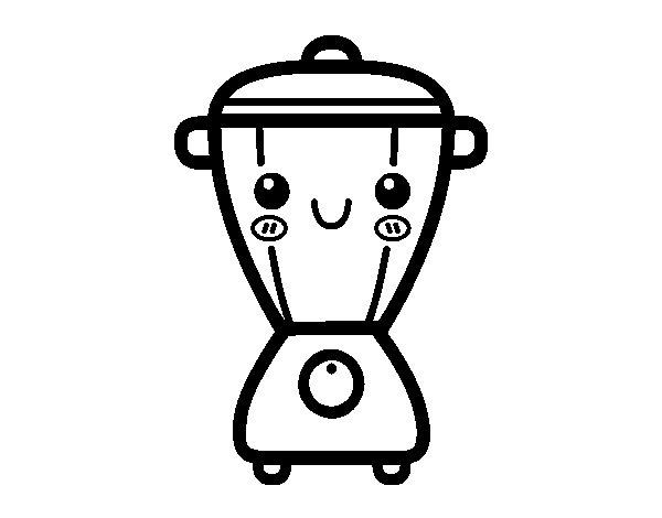 desenho de liquidificador animado para colorir tudodesenhos