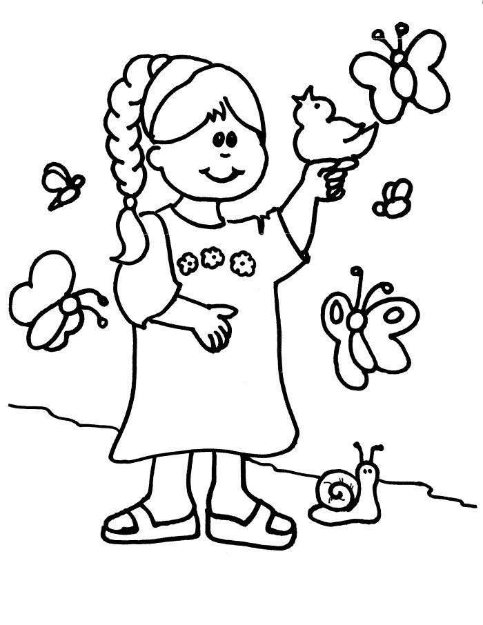 kanza tribe coloring pages - photo#22