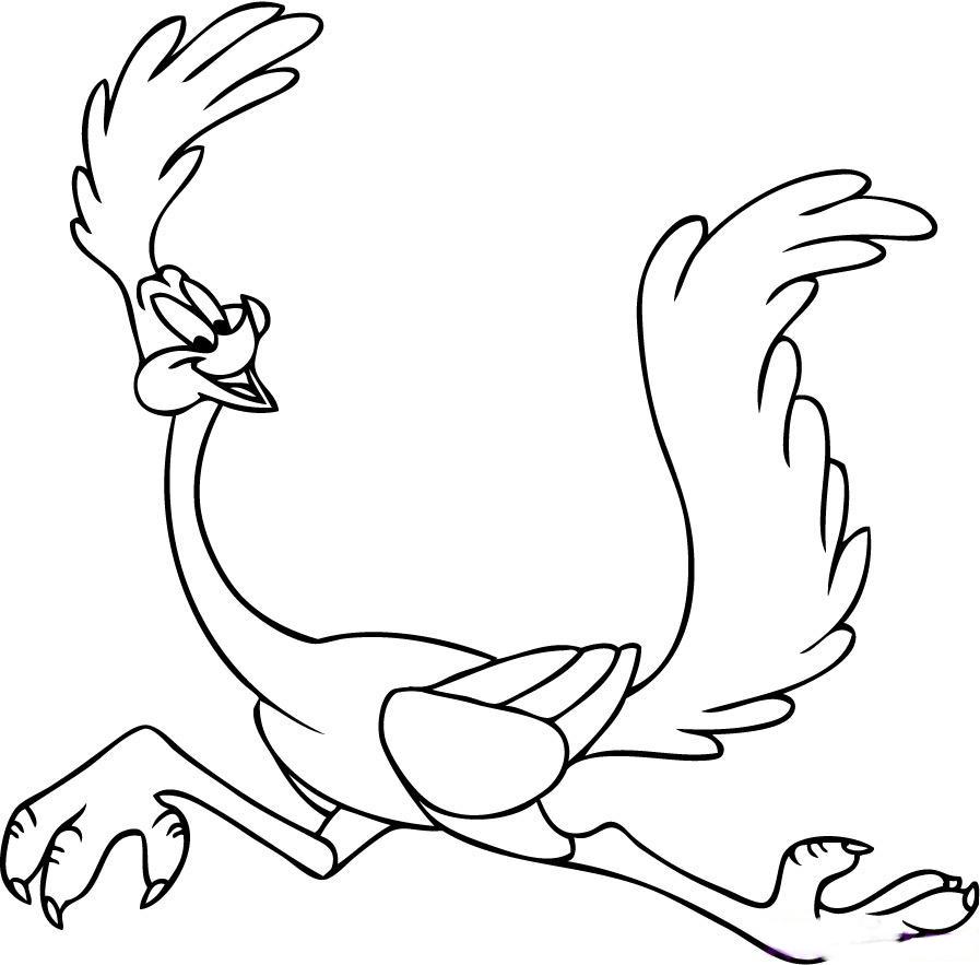 desenho do papaleguas para