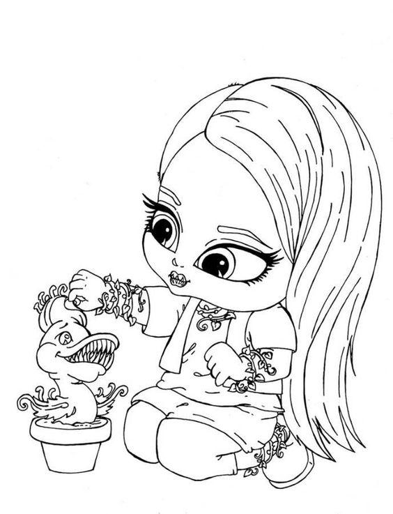 Desenho De Monster High Baby Para Colorir Tudodesenhos