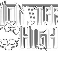 Desenho De Monster High Caveira Para Colorir Tudodesenhos