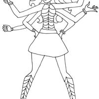Desenhos De Monster High Para Colorir Tudodesenhos
