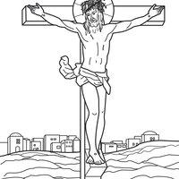 Desenho De Corpo De Cristo Para Colorir Tudodesenhos