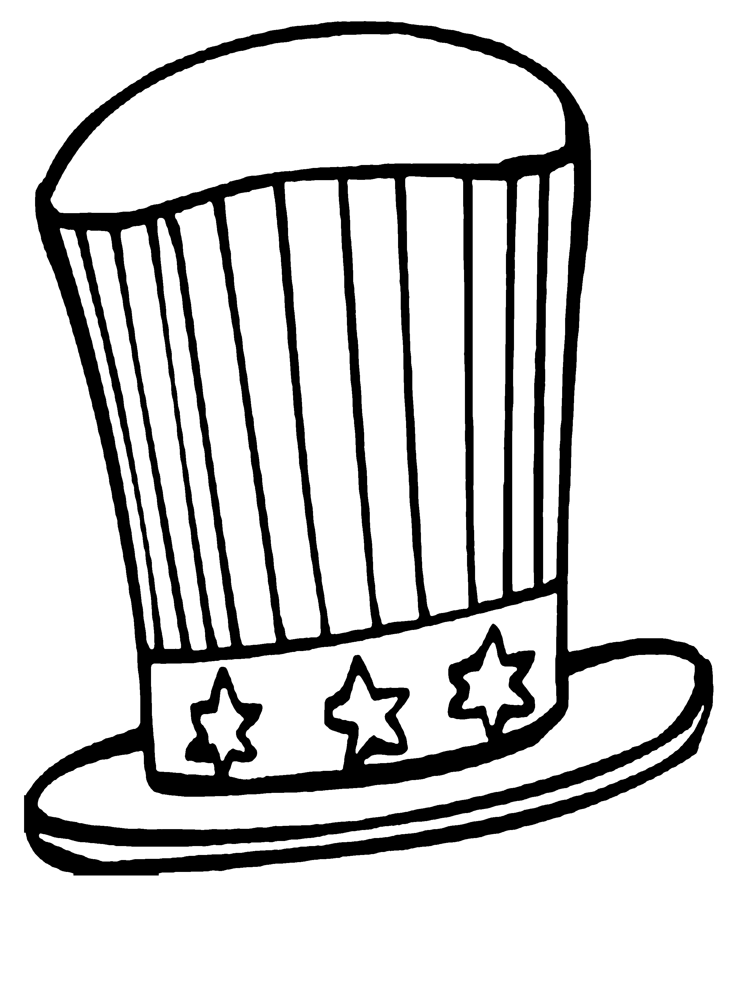 get free high quality hd wallpapers coloring page uncle sam - Uncle Sam Hat Coloring Page