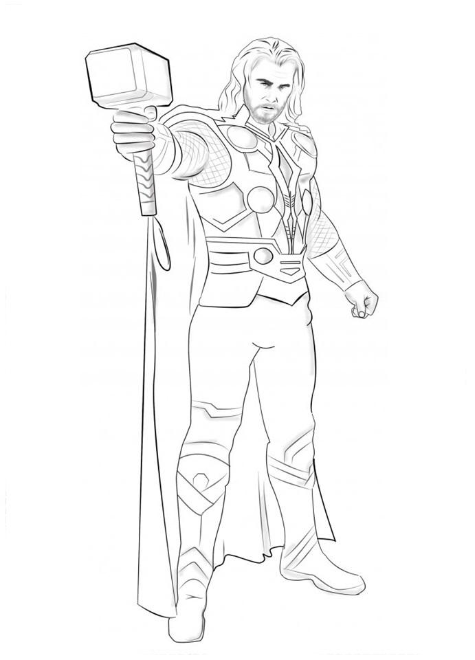Desenho do thor
