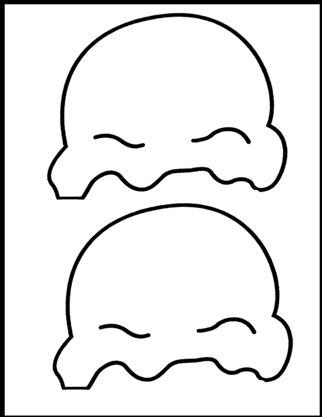 Desenho De Bolas De Sorvete Para Colorir Tudodesenhos