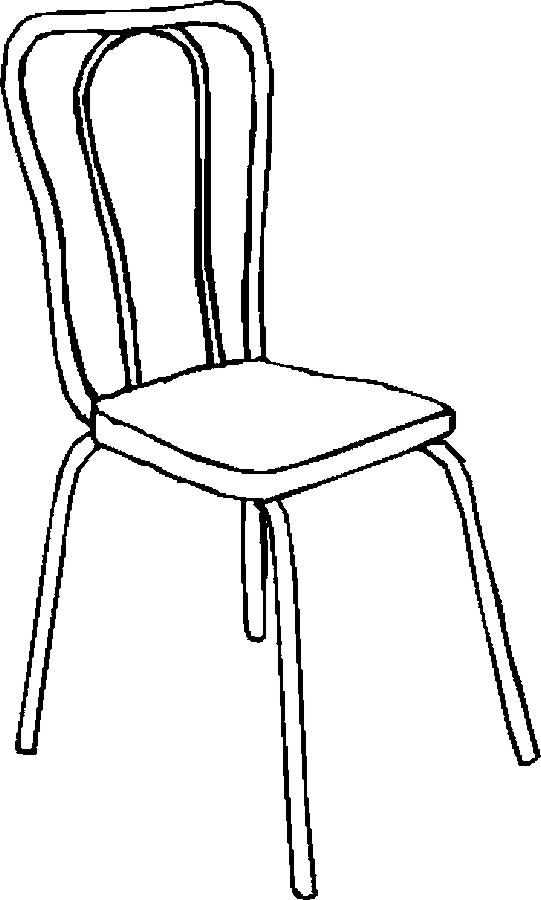 Desenho De Cadeira De Aluminio Para Colorir Tudodesenhos