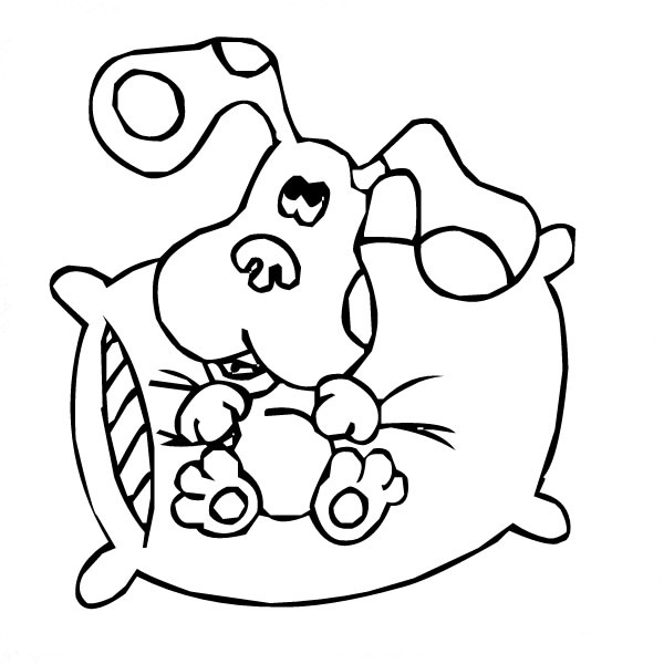 blues clues thanksgiving coloring pages - photo#36