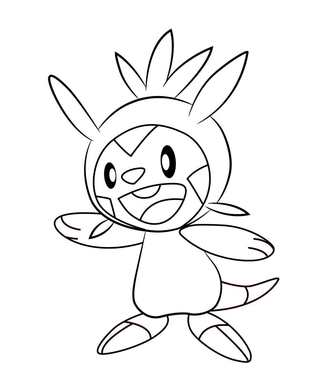 chespin cute coloring pages - photo#3
