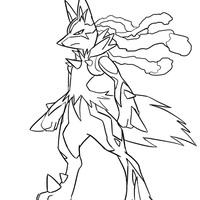 Desenho De Epic Pokemon Para Colorir Tudodesenhos