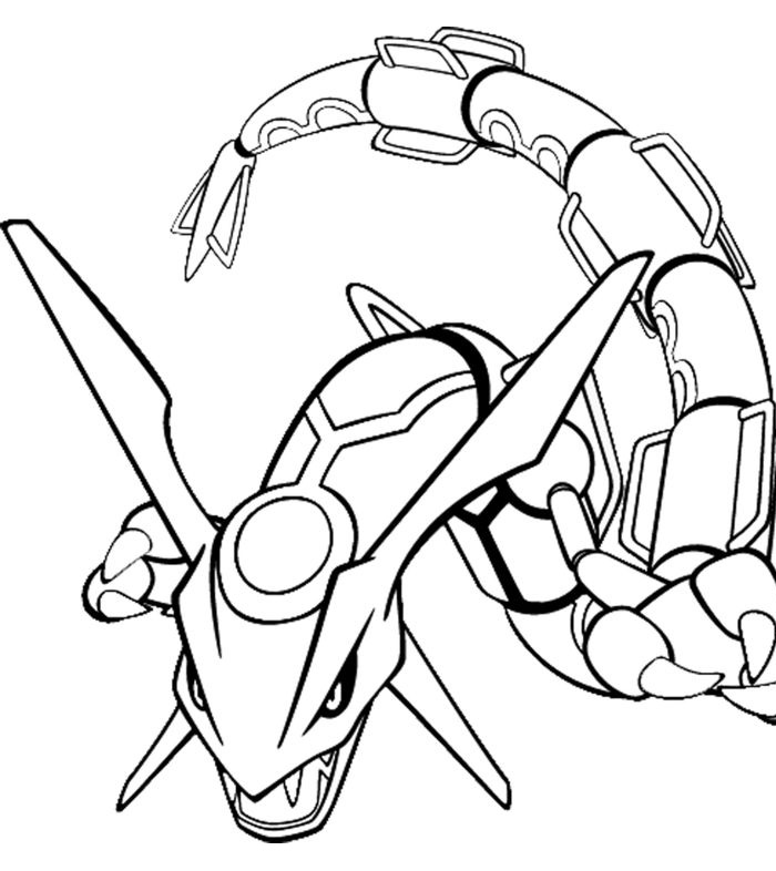 desenho de pokemon xy mega evoluído para colorir tudodesenhos