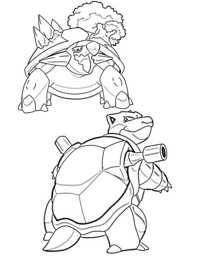 Desenho de water pokemon para colorir tudodesenhos for Water pokemon coloring pages