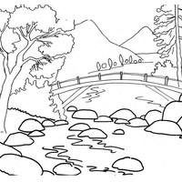 Desenhos De Rio Para Colorir Tudodesenhos