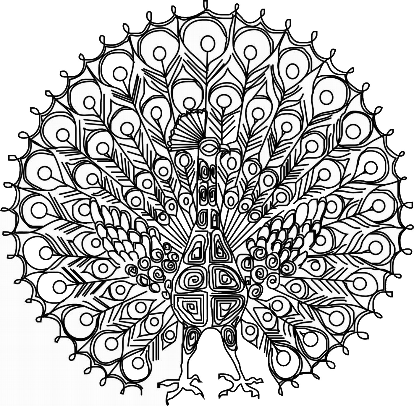 crazy creatures coloring pages - photo#39