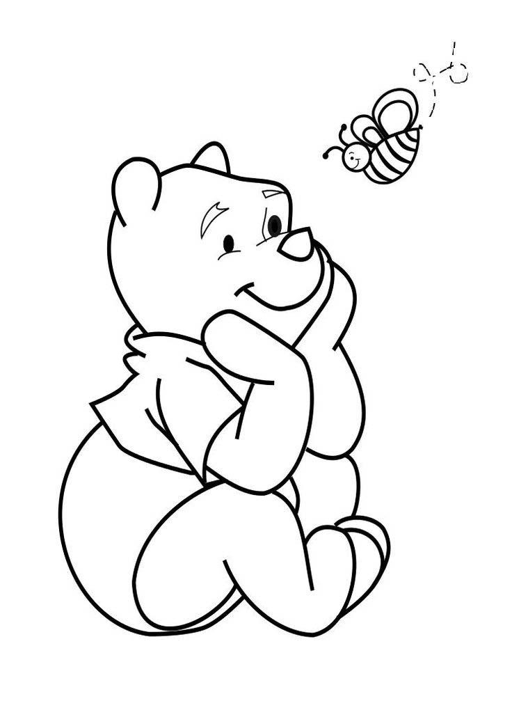 Winnie The Pooh And Piglet Coloring Pages Coloring Pages