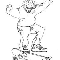 desenhos de skate para colorir tudodesenhos