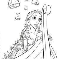 Desenhos De Rapunzel Para Colorir Tudodesenhos