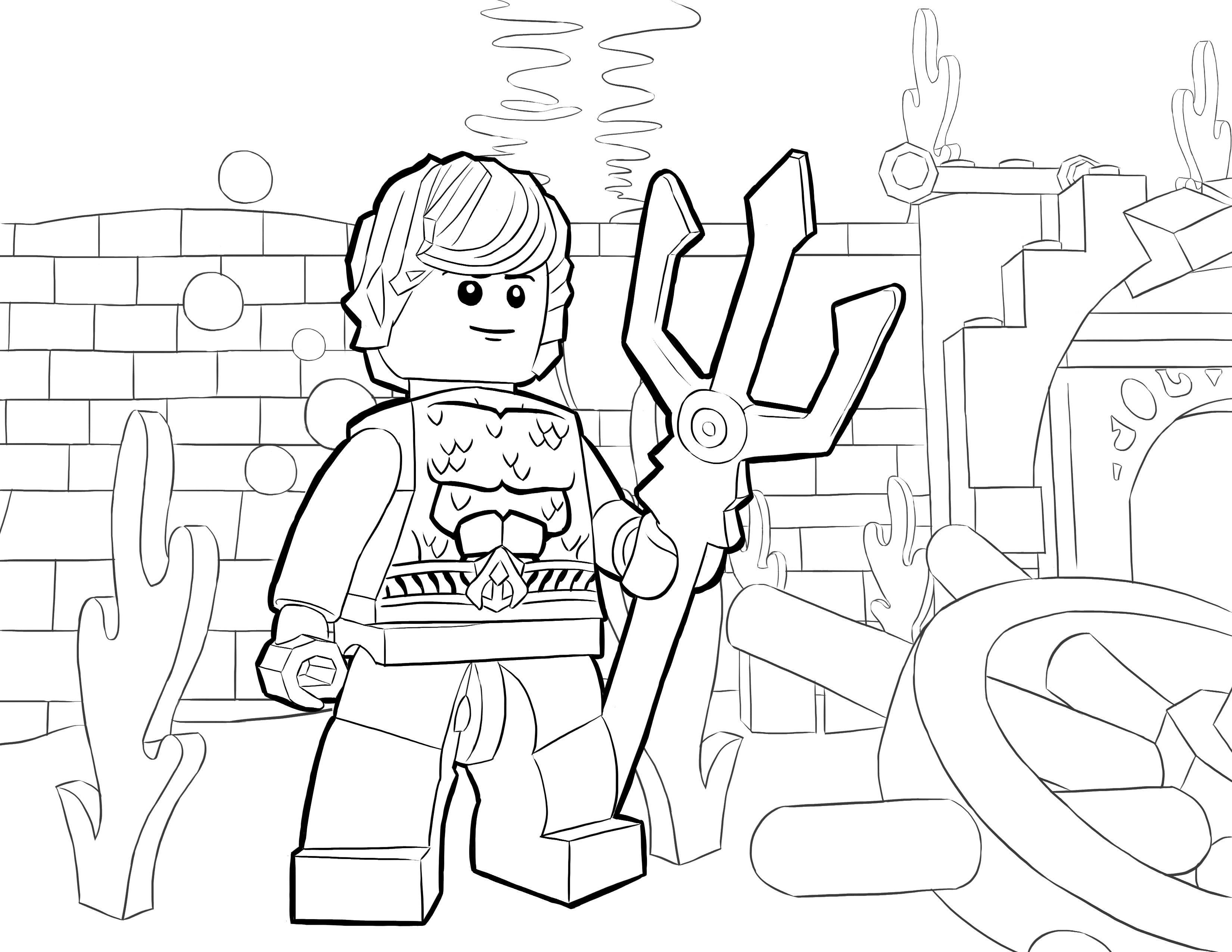 lego coloring pages chimaira - photo#7