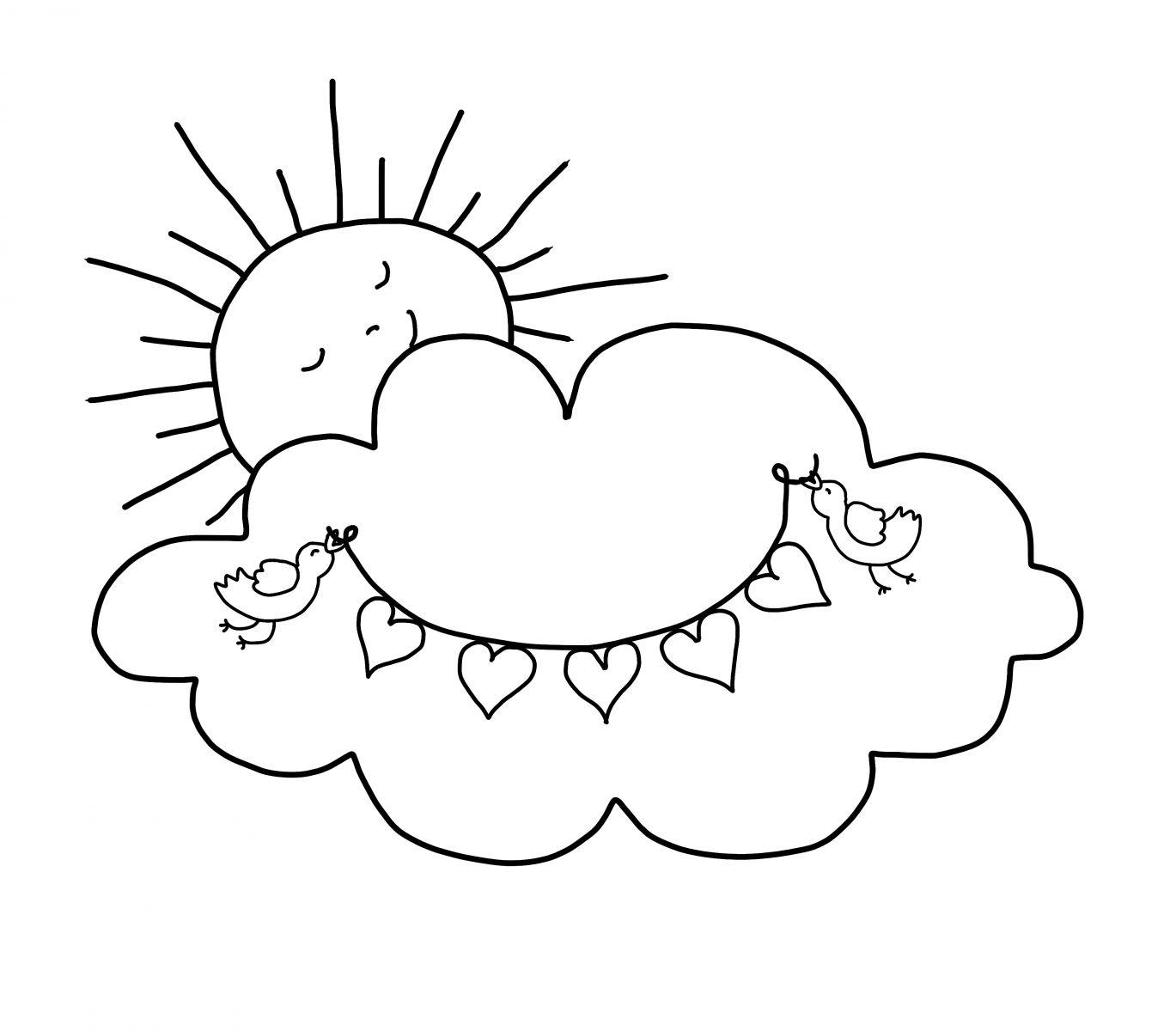 Desenho Da Nuvem Para Pintar Siaya County