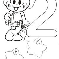 Desenhos De Numeros Turma Da Monica Para Colorir Tudodesenhos
