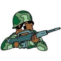 Resultado de imagem para militares desenho