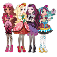 Desenhos de Ever After High para colorir