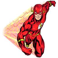 desenho de the flash super herói para colorir tudodesenhos