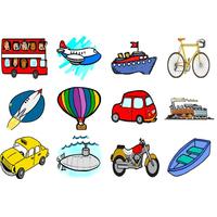 Desenhos De Meios De Transporte Para Colorir Tudodesenhos